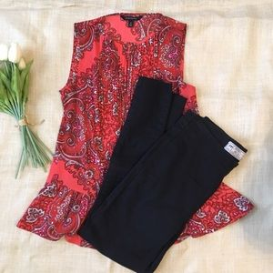 Free People Slip On Black Jeans